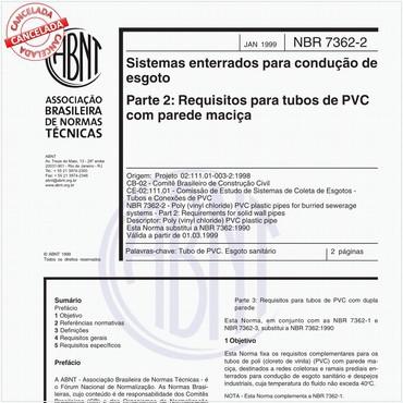 NBR7362-2 de 01/1999