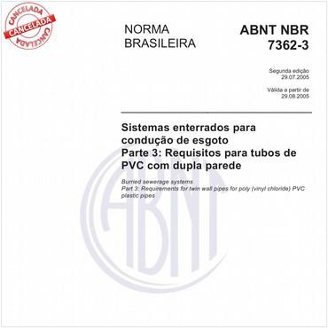 NBR7362-3 de 07/2005