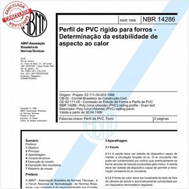 NBR14286 de 03/1999