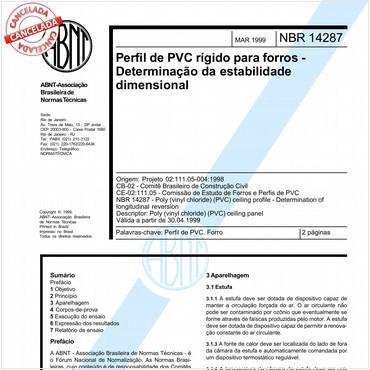 NBR14287 de 03/1999