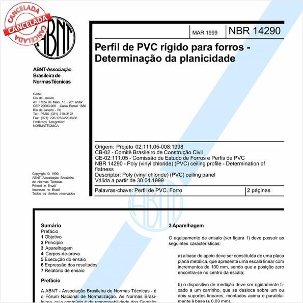 NBR14290 de 04/2014
