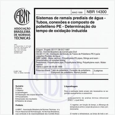 NBR14300 de 05/1999