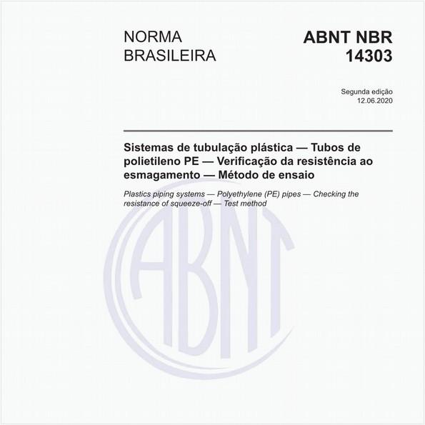Sistemas de tubulação plástica — Tubos de polietileno PE — Verificação da resistência ao esmagamento — Método de ensaio