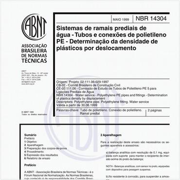 NBR14304 de 05/1999
