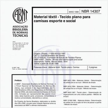 NBR14307 de 05/1999