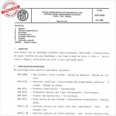 NBR8093 de 07/1983