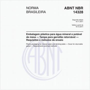 NBR14328 de 11/2011
