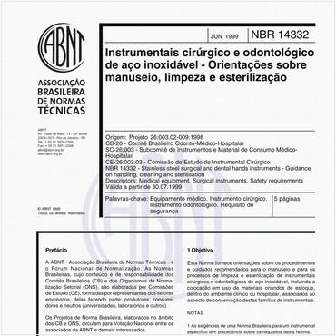 NBR14332 de 06/1999