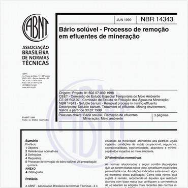 NBR14343 de 06/1999