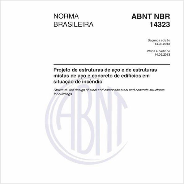 NBR14323 de 08/2013