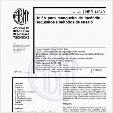 NBR14349 de 07/1999