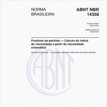 NBR14358 de 07/2012