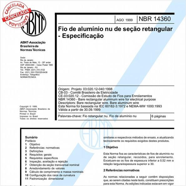 NBR14360 de 12/2015