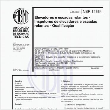 NBR14364 de 08/1999