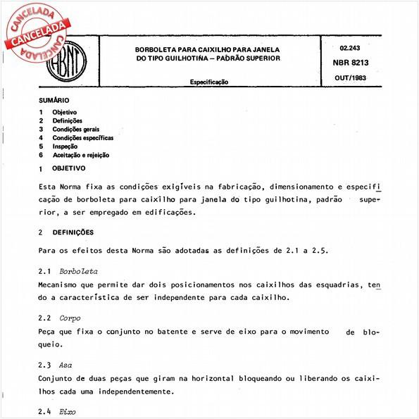 NBR8213 de 09/2012