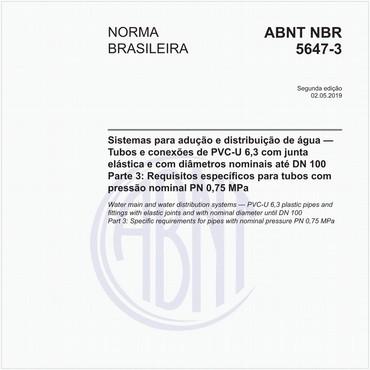 NBR5647-3 de 05/2019