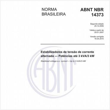 NBR14373 de 12/2006