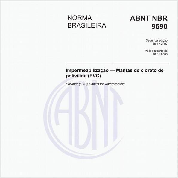 Impermeabilização - mantas de cloreto de polivilina (PVC)