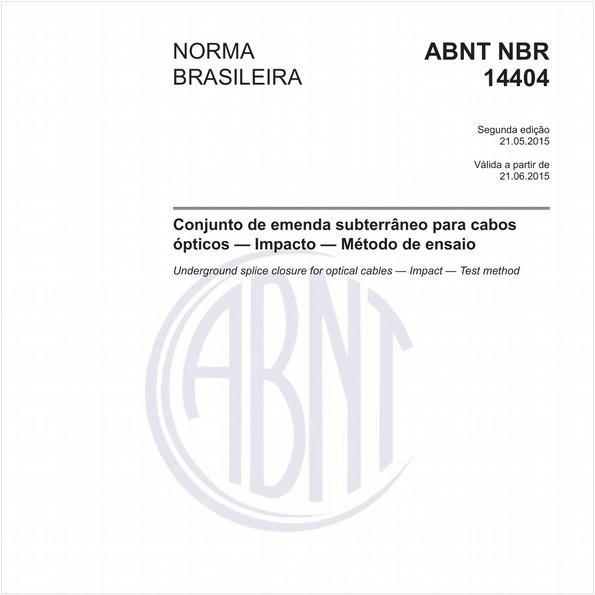 NBR14404 de 05/2015