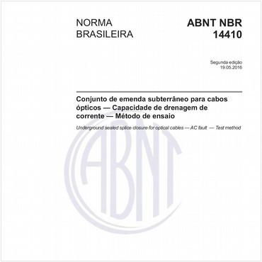 NBR14410 de 05/2016