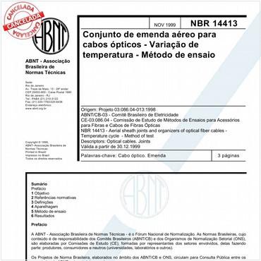 NBR14413 de 11/1999