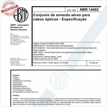 NBR14402 de 11/1999