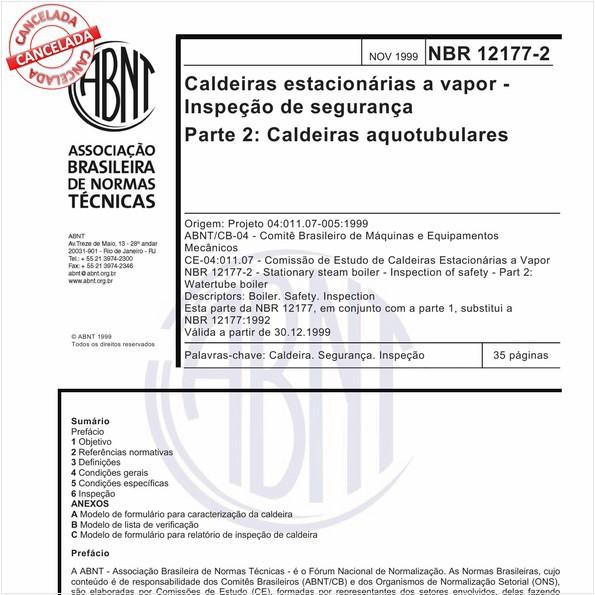NBR12177-2 de 12/2015