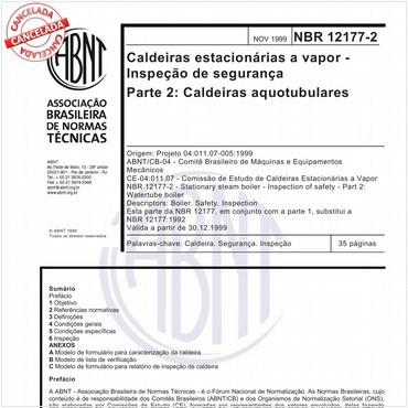 NBR12177-2 de 11/1999