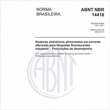 NBR14418 de 01/2011
