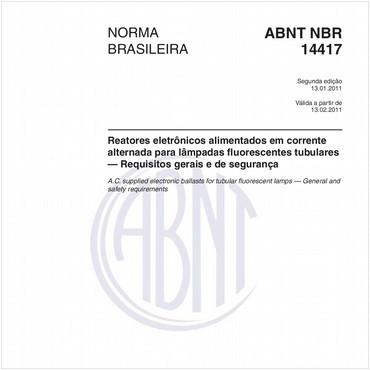 NBR14417 de 01/2011