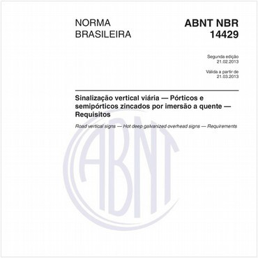 NBR14429 de 02/2013