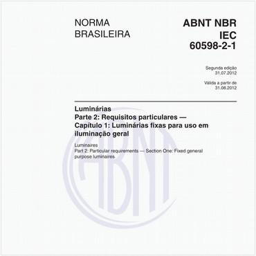 NBRIEC60598-2-1 de 07/2012
