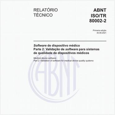 ABNT ISO/TR80002-2 de 08/2021
