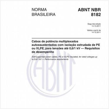 NBR8182 de 10/2011
