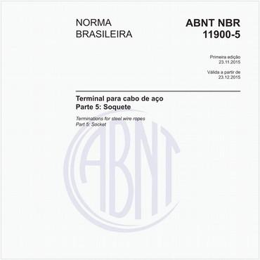 NBR11900-5 de 11/2015