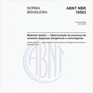 NBR16503 de 01/2018
