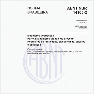 NBR14105-2 de 12/2015