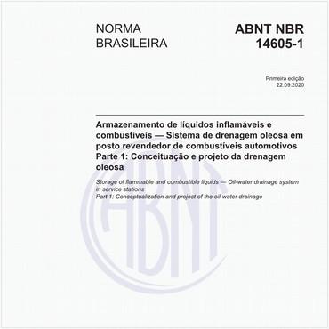 NBR14605-1 de 09/2020