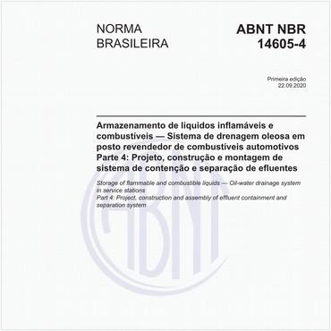 NBR14605-4 de 09/2020