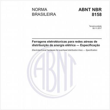 NBR8158 de 11/2017