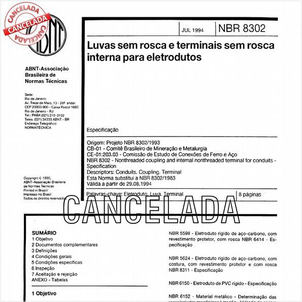 NBR8302 de 05/2011