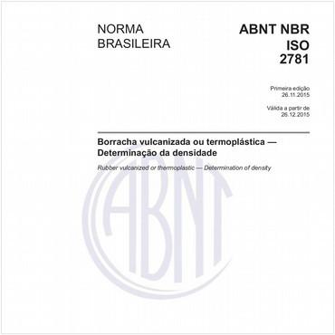NBRISO2781 de 11/2015