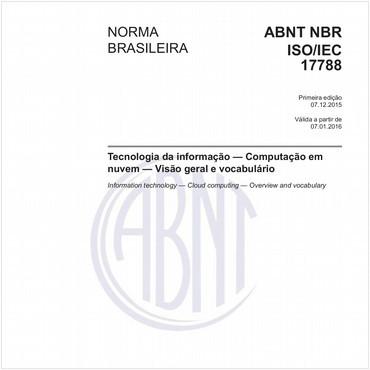 NBRISO/IEC17788 de 12/2015