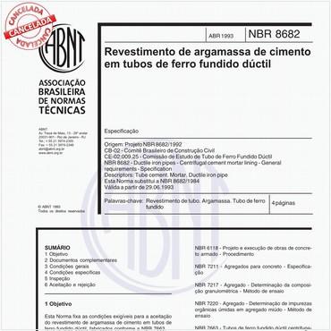 NBR8682 de 04/1993