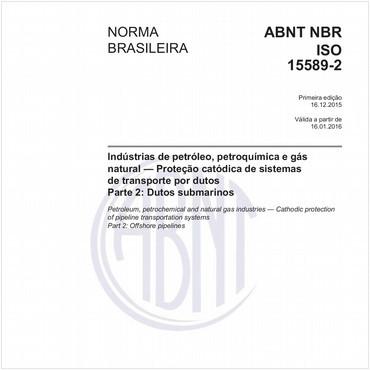 NBRISO15589-2 de 12/2015