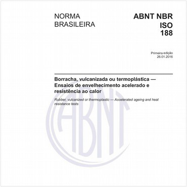 NBRISO188 de 01/2016