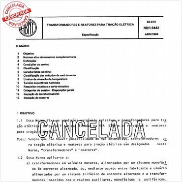 NBR8442 de 04/1984