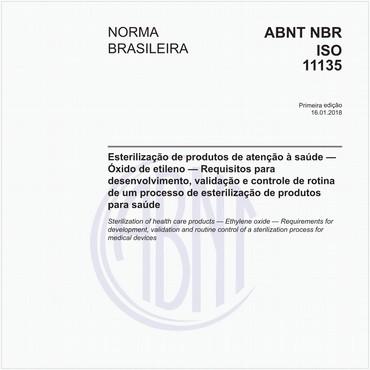 NBRISO11135 de 01/2018
