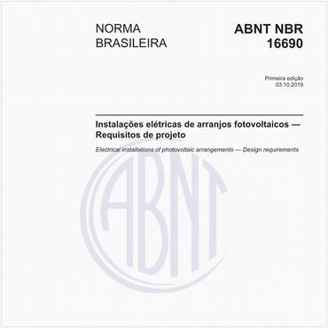 NBR16690 de 10/2019