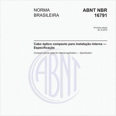 NBR16791 de 10/2019